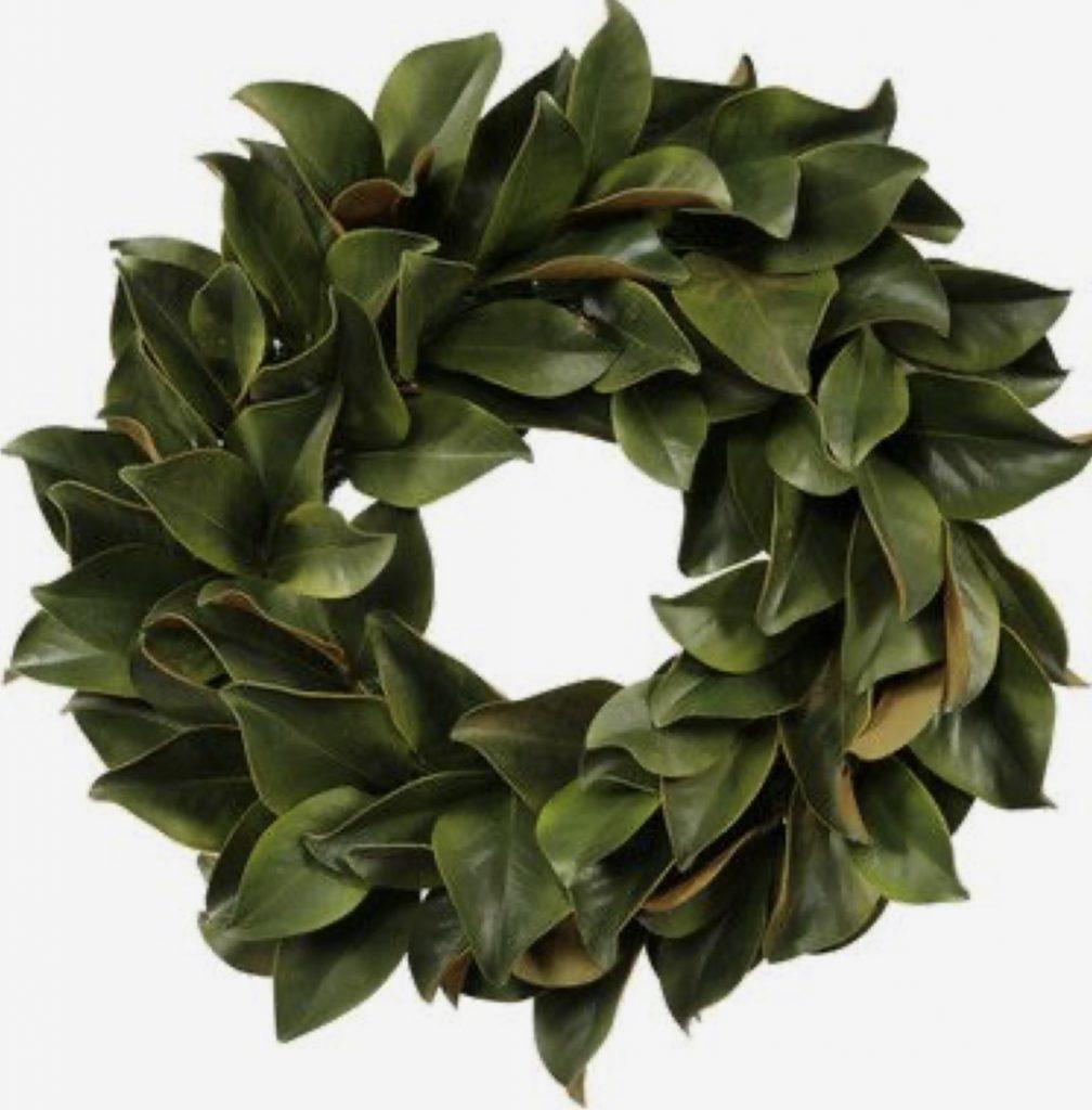 Magnolia Wreath Joanna Gaines