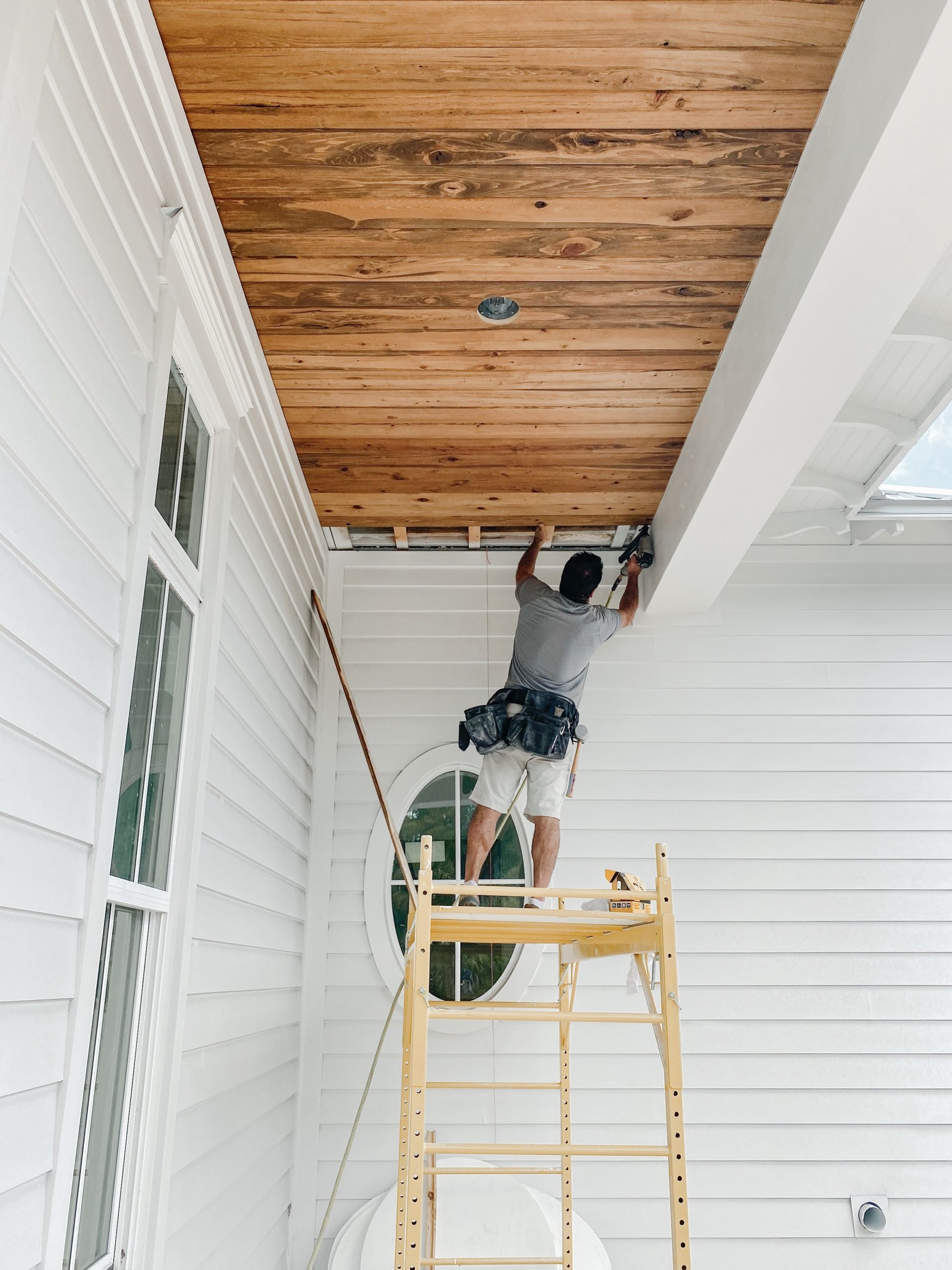 What S The Best Wood For Porch Ceilings Palm Grove Farmhouse